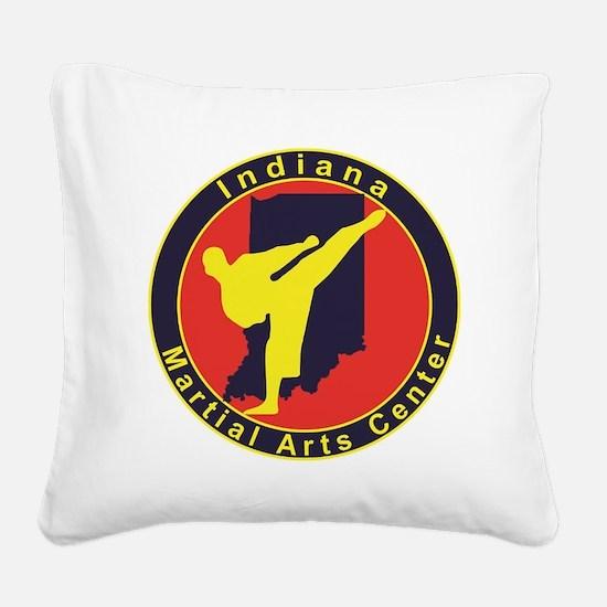 IMAC Logo Square Canvas Pillow