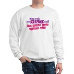 Mess With My Scrapbook Sweatshirt