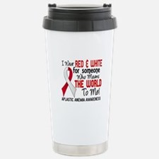 Aplastic Anemia Means W Stainless Steel Travel Mug