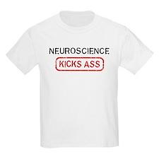 NEUROSCIENCE kicks ass T-Shirt