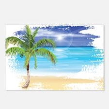 Beach Scene Postcards (Package of 8)