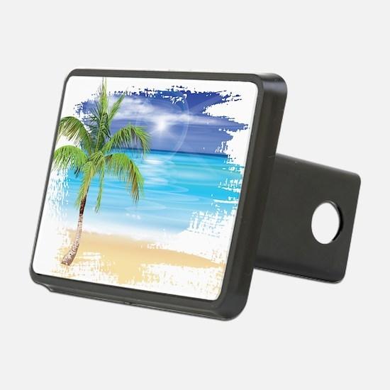 Beach Scene Hitch Cover