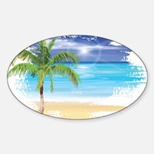 Beach Scene Decal