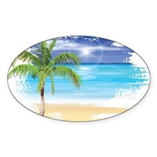 Beach Scene Stickers