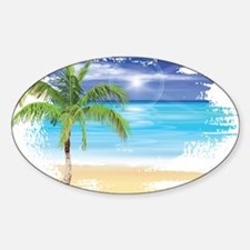 Beach Scene Stickers