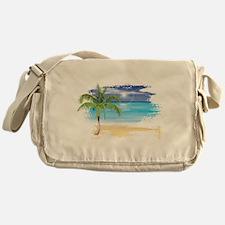 Beach Scene Messenger Bag