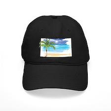 Beach Scene Baseball Hat