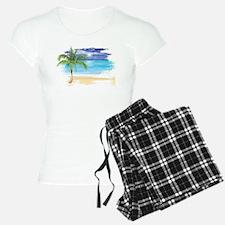 Beach Scene Pajamas