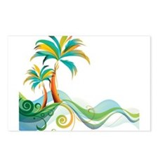 Rainbow Palm Tree Postcards (Package of 8)
