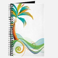 Rainbow Palm Tree Journal