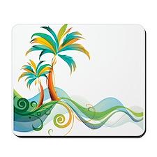 Rainbow Palm Tree Mousepad