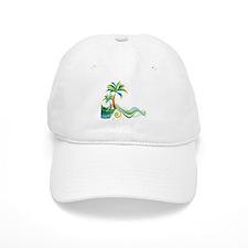 Rainbow Palm Tree Baseball Baseball Cap