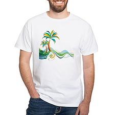Rainbow Palm Tree T-Shirt