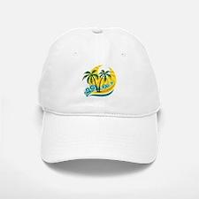 Sunny Palm Tree Baseball Baseball Baseball Cap