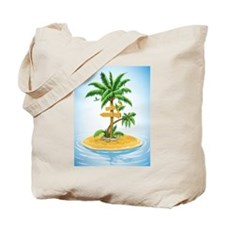 Palm Tree Direction Tote Bag