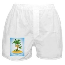 Palm Tree Direction Boxer Shorts