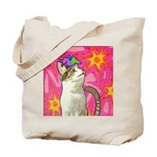 Jester Kitty Tote Bag