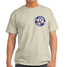 Autism Proud Nana 3 Blue T-Shirt