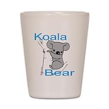 Cute Koala Bear (1) Shot Glass
