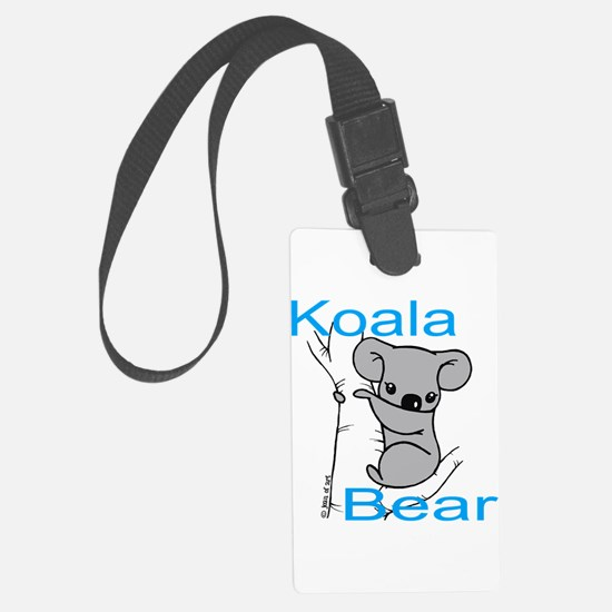 Cute Koala Bear (1) Luggage Tag