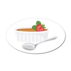 Creme Brulee Wall Decal