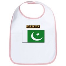 Flag of Pakistan with Text Bib