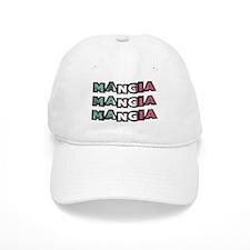 Mangia Mangia Mangia Baseball Baseball Cap