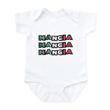 Mangia Mangia Mangia Infant Bodysuit