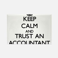 Keep Calm and Trust an Accountant Magnets