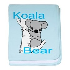 Cute Koala Bear (1) baby blanket
