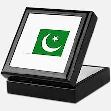 Flag of Pakistan - NO Text Keepsake Box
