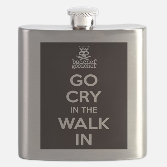 Go Cry In The Walk-IN Flask