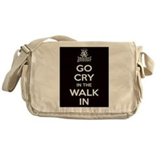 Go Cry In The Walk-IN Messenger Bag