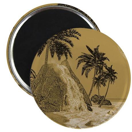 Island in vintage optics Magnets