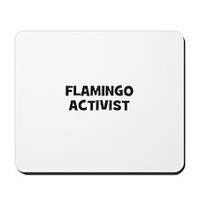 flamingo activist Mousepad