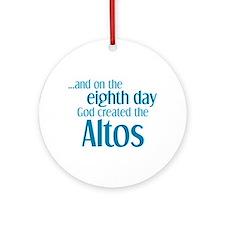 Alto Creation Ornament (Round)