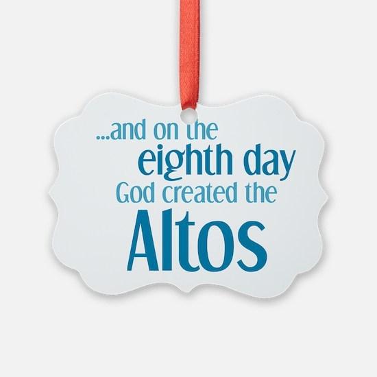 Alto Creation Ornament