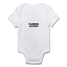 flamingo activist Infant Bodysuit
