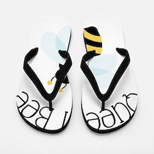 Queen Bee Flip Flops