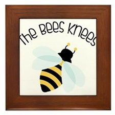 The Bees Knees Framed Tile