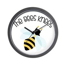 The Bees Knees Wall Clock