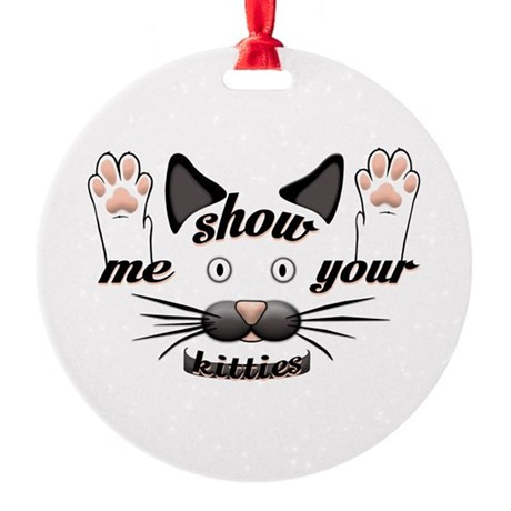 Show me your kitties! Ornament