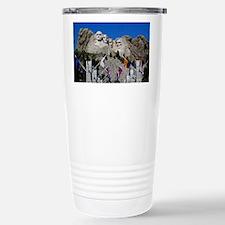 Mt Rushmore Avenue of F Stainless Steel Travel Mug