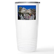 Mt Rushmore Avenue of F Travel Mug