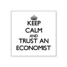 Keep Calm and Trust an Economist Sticker