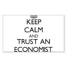 Keep Calm and Trust an Economist Decal