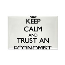 Keep Calm and Trust an Economist Magnets