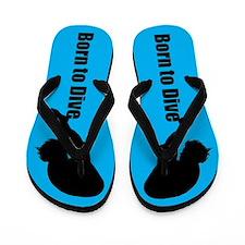 Power Diver Flip Flops