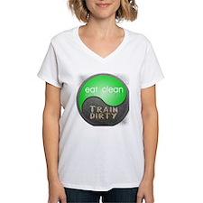 eat clean 12x12 circle T-Shirt