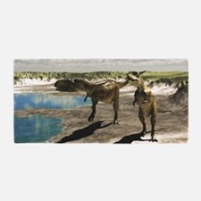 Abelisaurus Beach Towel